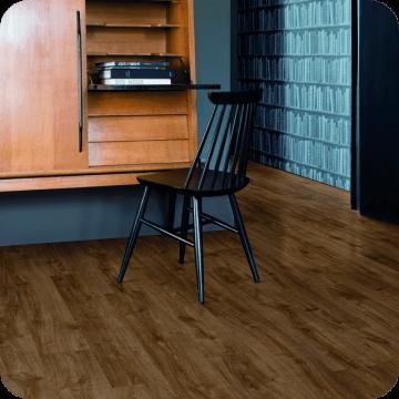 Винил Alpha Vinyl Medium Planks AVMP40090 Autumn oak brown